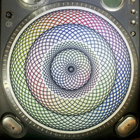 Rainbow Sacred Spinner 3-Speed Slipmat