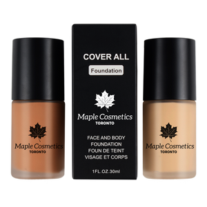 "Maple Cosmetics Toronto ""Ultimate Coverage"" Pro Flawless Party Look Foundation"
