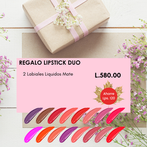 Regalo Lipstick Duo Mother's Day Gift