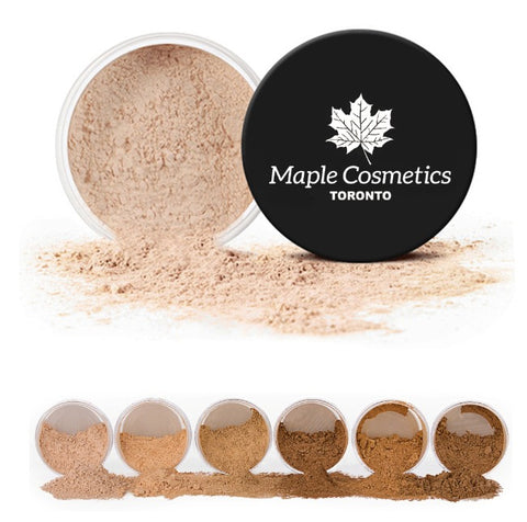 "Maple Cosmetics Toronto ""Loose Powder"" Pro"