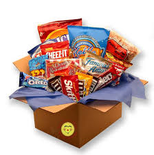Snack Box Care Package - Large Flat Rate Box