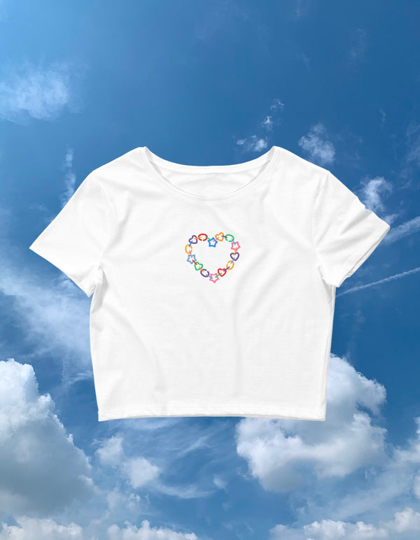 Preschool Chain Crop Tee