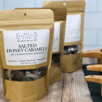 Salted Honey Caramels