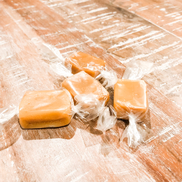Honey Caramels - Made with Steamboat honey