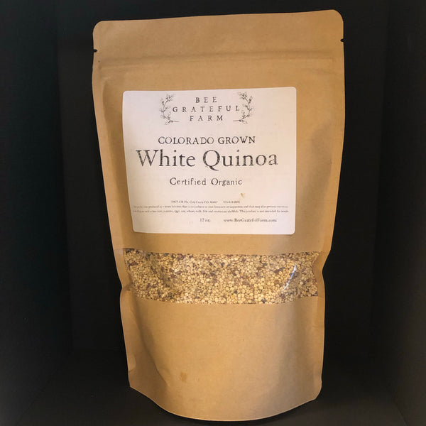 White Quinoa - Colorado Grown (12 oz.)