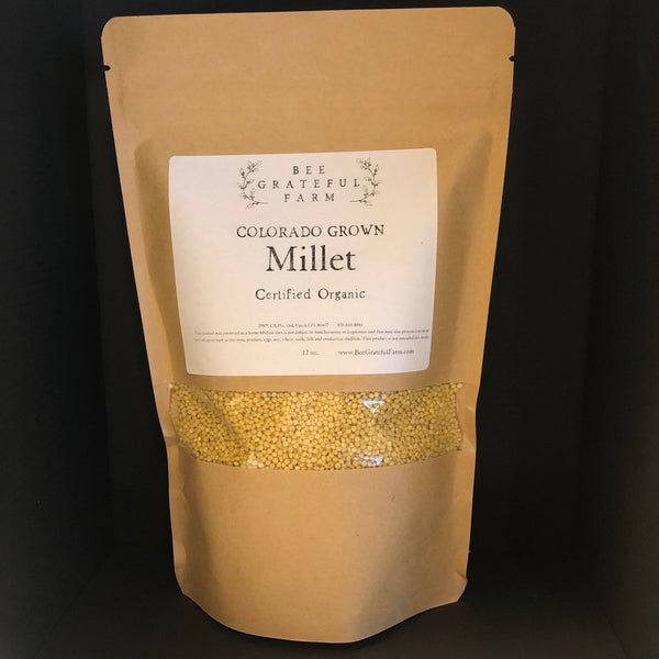 Millet - Colorado Grown (12 oz.)
