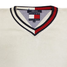 Load the image into the gallery viewer, TOMMY HILFIGER   M   V-NECK SWEATER
