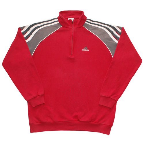ADIDAS | L | ZIP-SWEATER