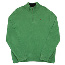 Load the image into the gallery viewer, TOMMY HILFIGER | L | Q-ZIP SWEATER