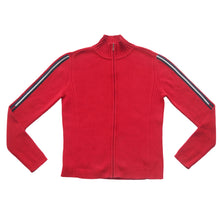 Load the image into the gallery viewer, TOMMY HILFIGER | M | WOMENS SWEAT JACKET