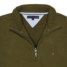Load the image into the gallery viewer, TOMMY HILFIGER | M | Q-ZIP SWEATER