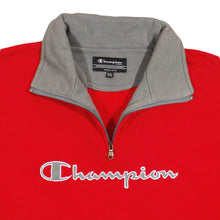 Load the image into the gallery viewer, CHAMPION | S | ZIP SWEATER