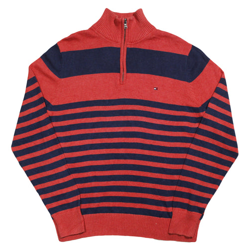 TOMMY HILFIGER | M | Q-ZIP SWEATER