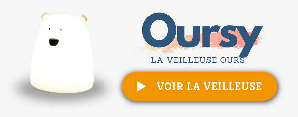 Veilleuse Oursy