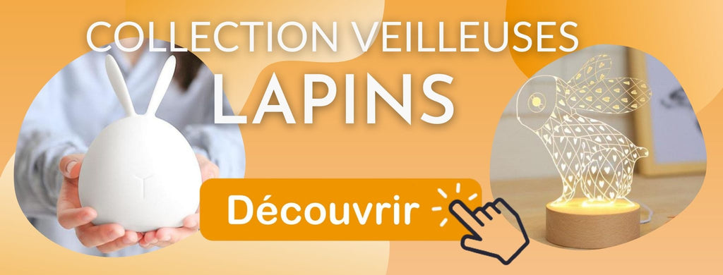 Collection veilleuse Lapins