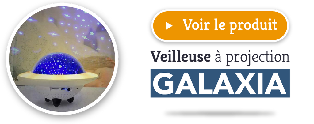 Veilleuse Projection galaxia