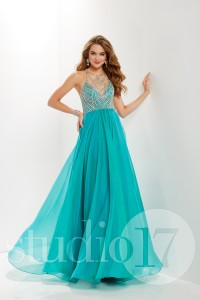 Studio 17 12655 is available in Flamingo, Jade and in sizes 0-30.