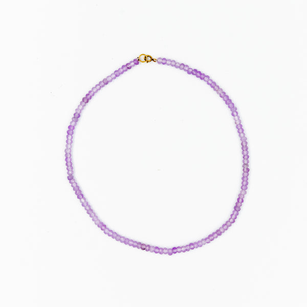 Pretty in Purple Necklace