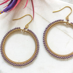 Purple Haze hoops