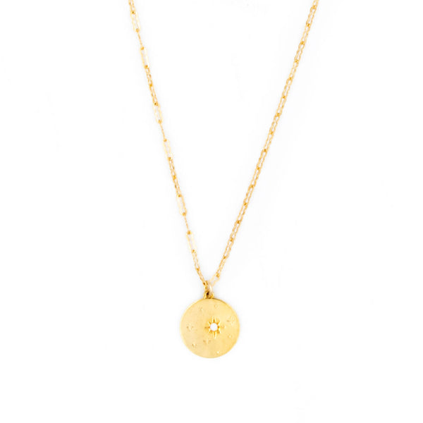 Twinkle Coin Pendant