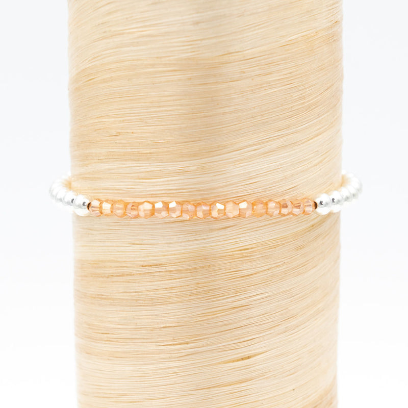 Orange Crystal Signature Bracelet