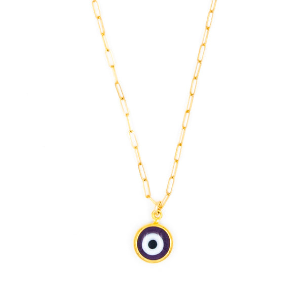 Rounded Eye Necklace