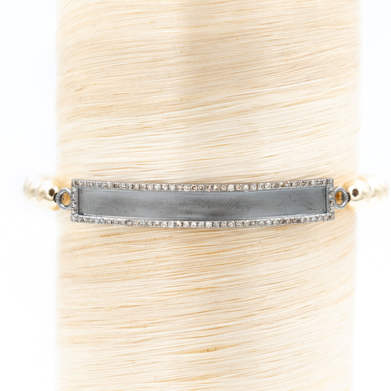 Diamond ID Signature Bracelet