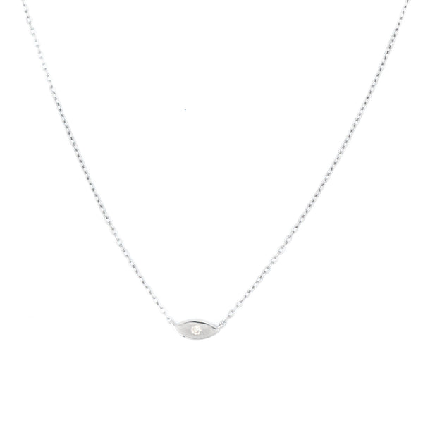 Mini Diamond Eye Necklace