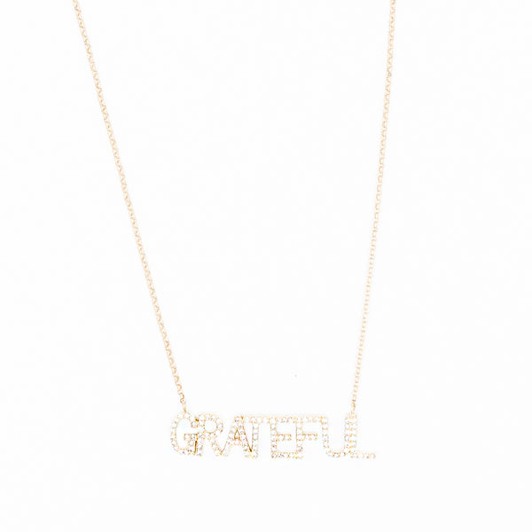 Grateful Diamond Necklace