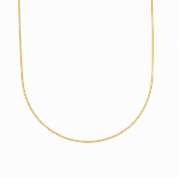 Smooth Snake Chain Mini Snake Chain Layering Necklace Gift Ideas