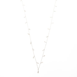 Dangle Crystal Wrap Necklace 2