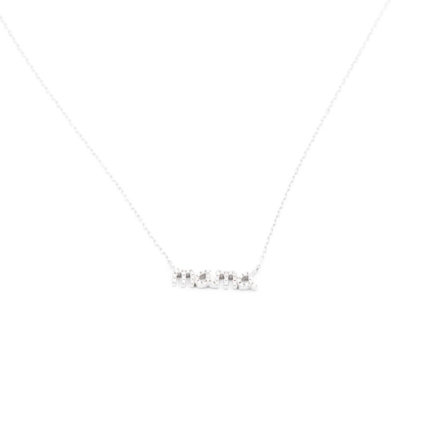Mama Crystal Charm Necklace