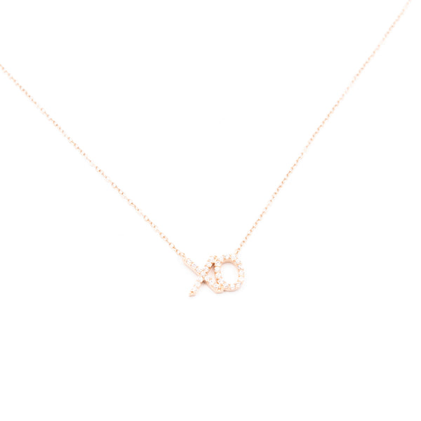 XO Crystal Necklace