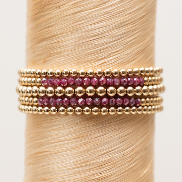 Ruby Bead Signature Stack