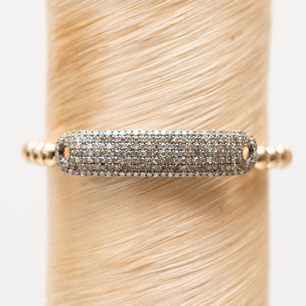 Diamond Bar Signature Bracelet