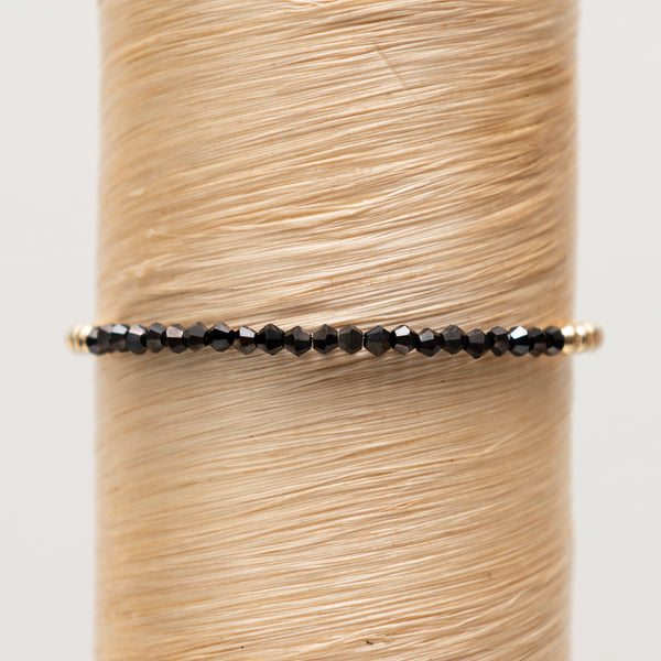Black Spinelle Signature Bracelet