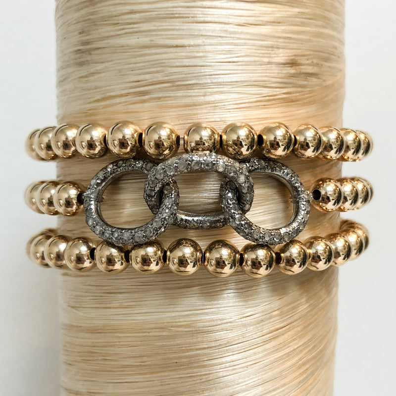 Open Diamond Chain Links Signature Stack