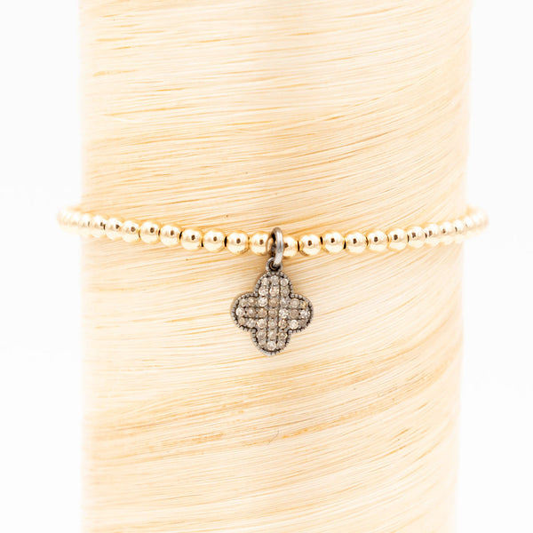 Clover Diamond Signature Bracelet