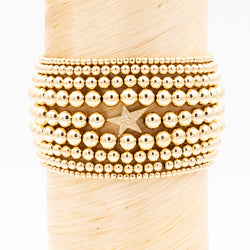 Gold Star Signature Bracelet