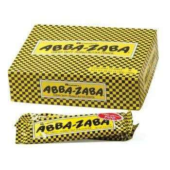 Abba Zaba Chewy Candy Bar 24 Count