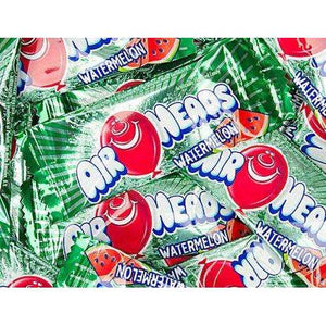 Airheads Candy Mini Bars Watermelon 25 Pounds