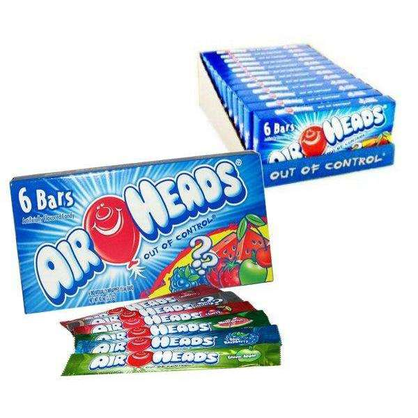 Airheads Candy Theater Box 12 Count