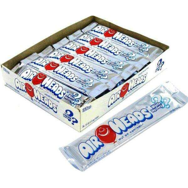 Airheads White Mystery Candy Bar 36 Count