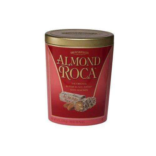 Almond Roca Candy Oval Tin 1 Per Order