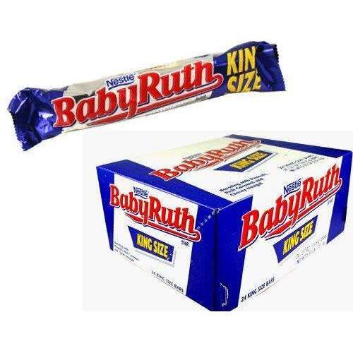 Baby Ruth Kingsize 3.7 Ounce 18 Count