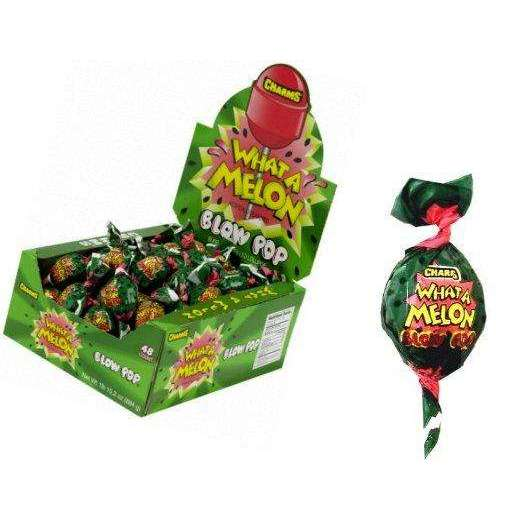 Blow Pop What A Melon Lollipops 48 Count