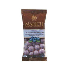Blueberries Natural Chocolate 2.1 Ounce 12 Count