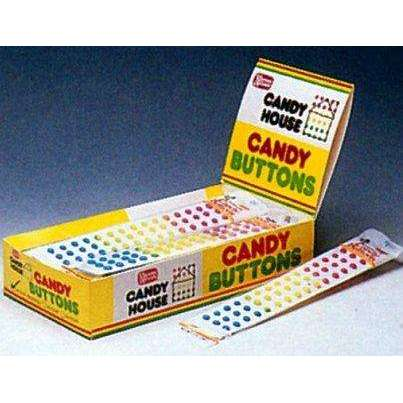 Candy Buttons Wrapped 5oz 24 count