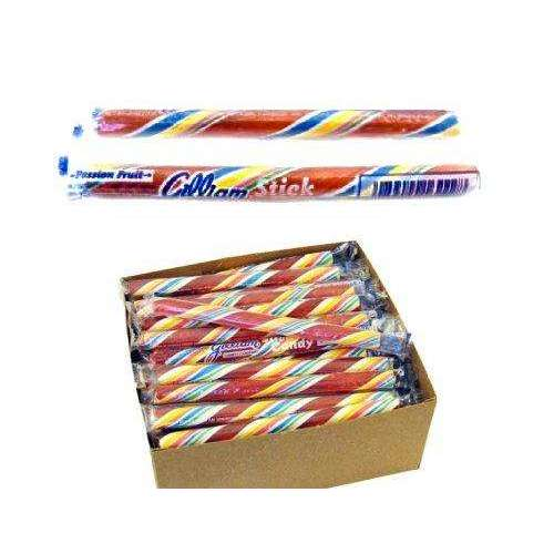 Candy Sticks 0.5 Ounce Passion Fruit 80 Count