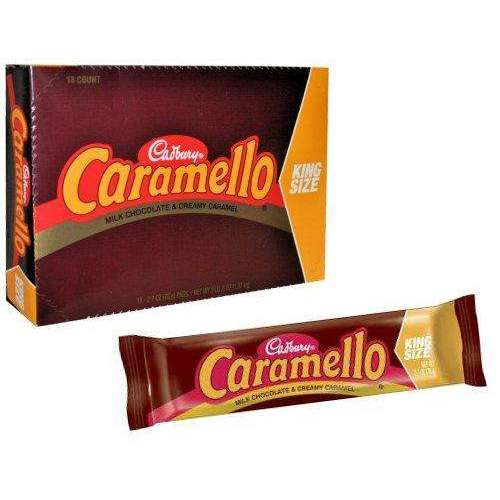 Caramello Chocolate Caramels Kingsize 18 Count